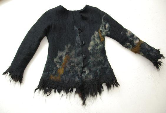 hand felted coat 'Himalaya'