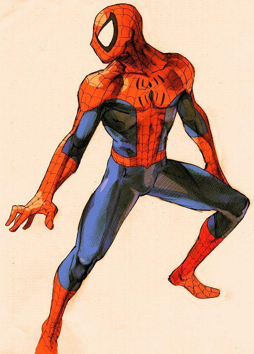 """Marvel vs. Capcom"" Spider-Man artwork #spiderman #marvel #capcom"