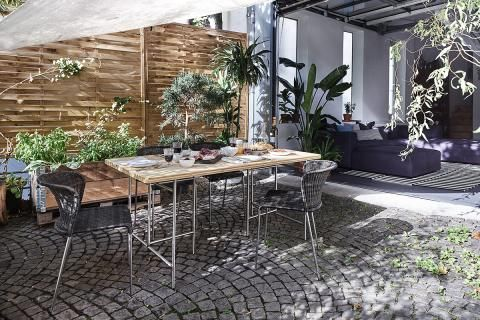 Bambus Als Sichtschutz Bild 6 Sichtschutzfurterrasse Sichtschutz Fur Den Garten 15 Effektive Ideen Schoner Wohnen In 2020 Gartenmobel Sets Im Freien Sichtschutz