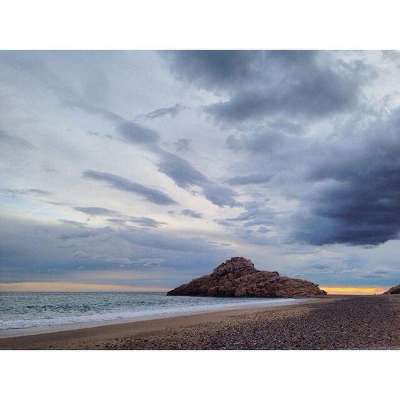"""#sunset #sky #mediterráneo #sea #home #sand #sun #light"""