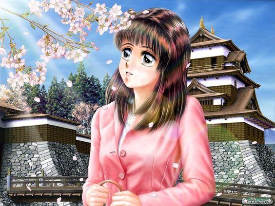 animegirl wektor