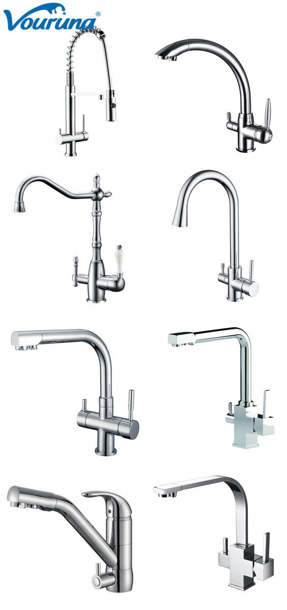 All Kinds Of 3 Way Water Filter Taps From Vouruna With Images