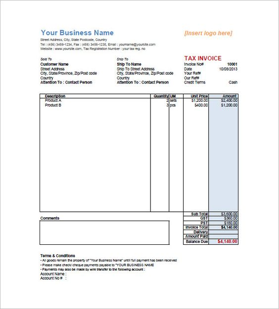 Sample-Retail-Invoice-Templatejpg (585×650) my documents - free invoice maker online