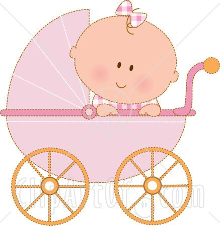 baby carriage clipart item 1 vector magz free download baby girl