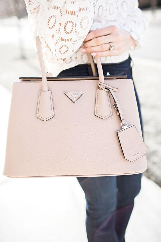 pink prada bag | Style \u0026lt;3 | Pinterest | Ivory, Prada Bag and Pink