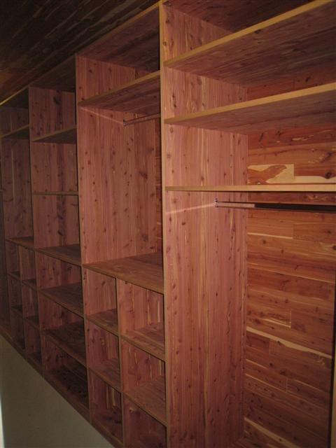 Cedar Lined Closet U0026 Cubbies For Wool Yarn Storage