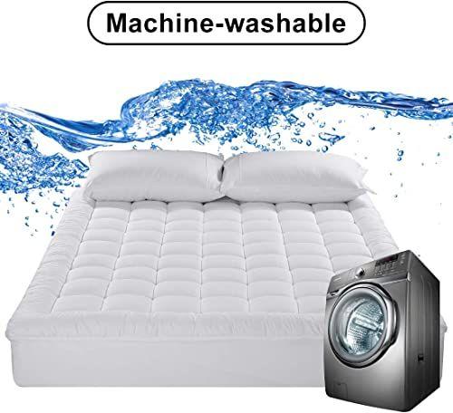 Cooling Pillow Mattress Topper