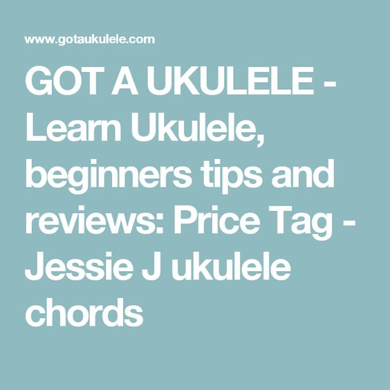 GOT A UKULELE - Learn Ukulele, beginners tips and reviews: Price ...