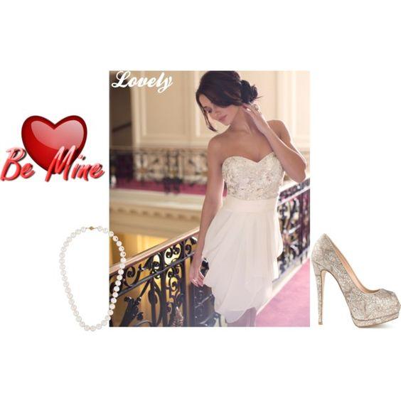 Be Mine by fashionchic123 on Polyvore featuring Lipsy and Giuseppe Zanotti