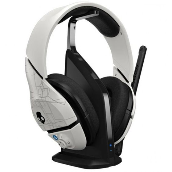 WIRELESS GAMING HEADSET WHITE POWERFUL BASE COMPATIBLE WITH Xbox 360, PS3, PS4 & PC,Tigerfn Sales