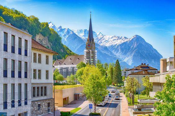 Popular on 500px : Vaduz by BernieLamberz