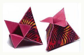 fabric art pyramids