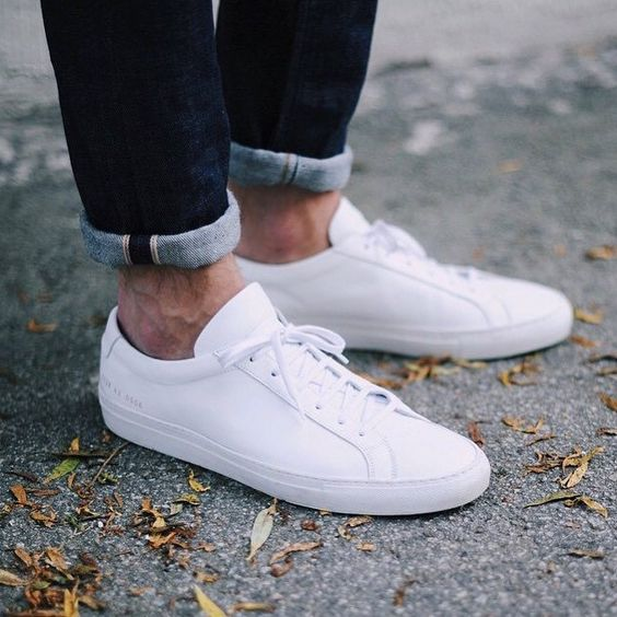 (108) Fancy - White Original Achilles Low Sneakers by Common Projects | Shoes | Pinterest ...