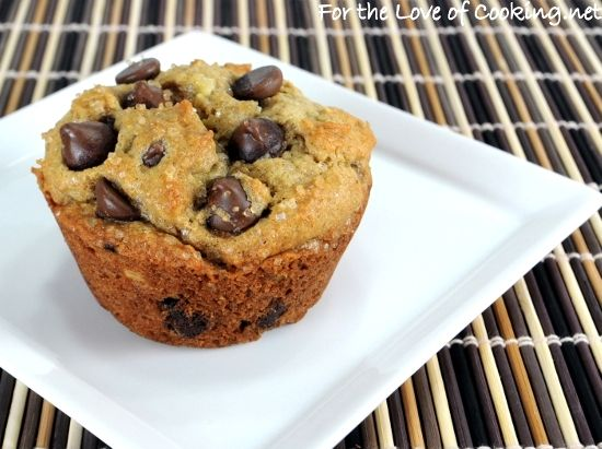 Banana Peanut Butter Chocolate Chip Muffins | Muffins Muffins Muffins ...