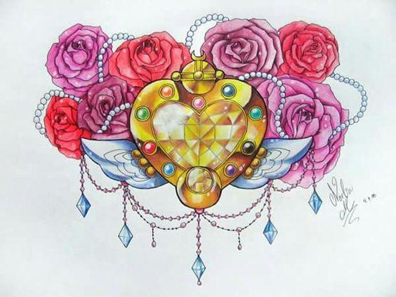 Sailor moon brooch