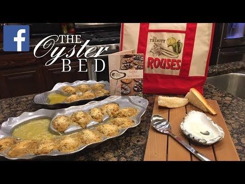 Oyster Bienville By The Cajun Ninja Youtube Oysters Bienville Food Recipes