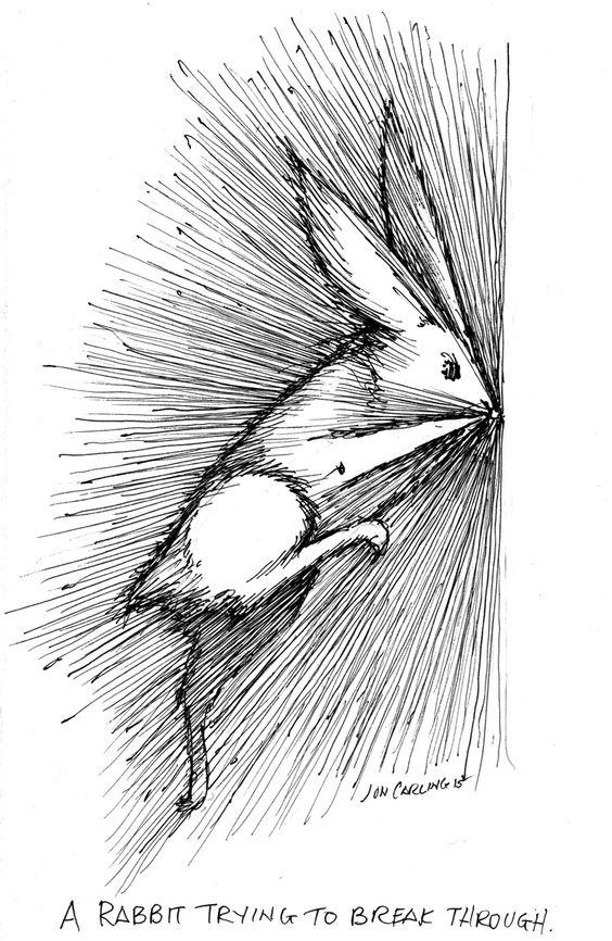 Rabbit Try to Breath Through. Jon Carling