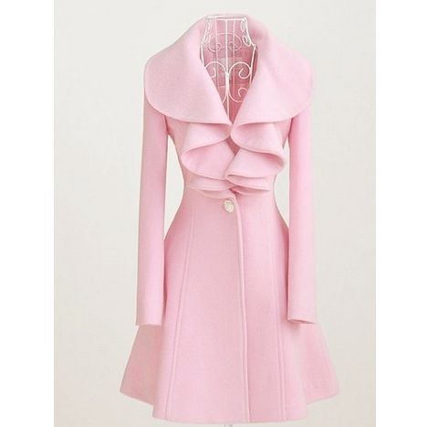 Must Have: Pink Peacoat!