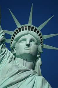 Lady Liberty... I've been inside her crown...i'ts a tight fit.