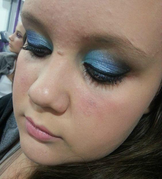 Beatriz - Degradê azul