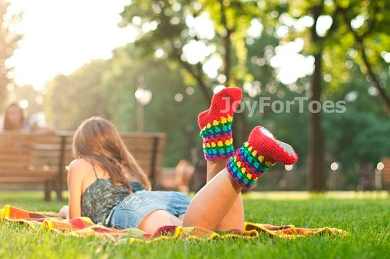 #Crochet #Boots #Women #Slippers for the #home #Joy by #JoyForToes