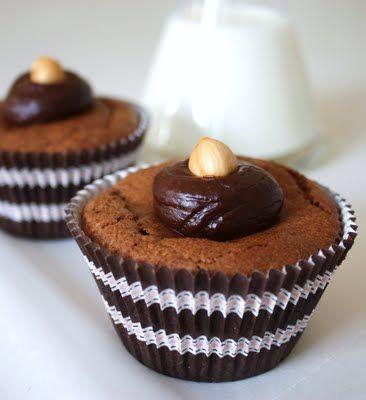 Flourless Chocolate & Hazelnut Cupcakes (GF) | Cupcakes and Muffins ...