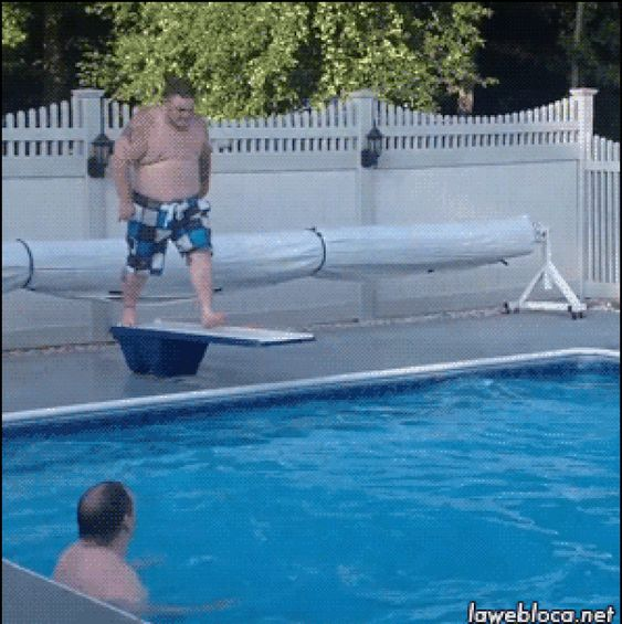 20 Funny Pool Fails That Are Painful In Every Way Funny Gifs Fails Guys Thoughts Joke Of The Day