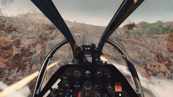 Rising Storm 2 Vietnam - helicoptero