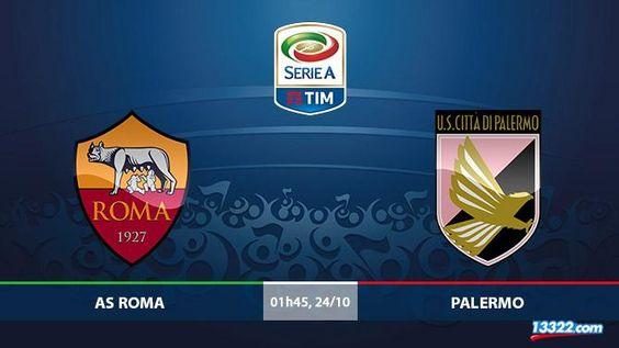 Nhận định AS Roma vs Palermo
