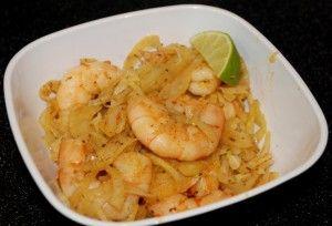 Love, love, love this unique recipe: Spicy Shrimp with Fennel
