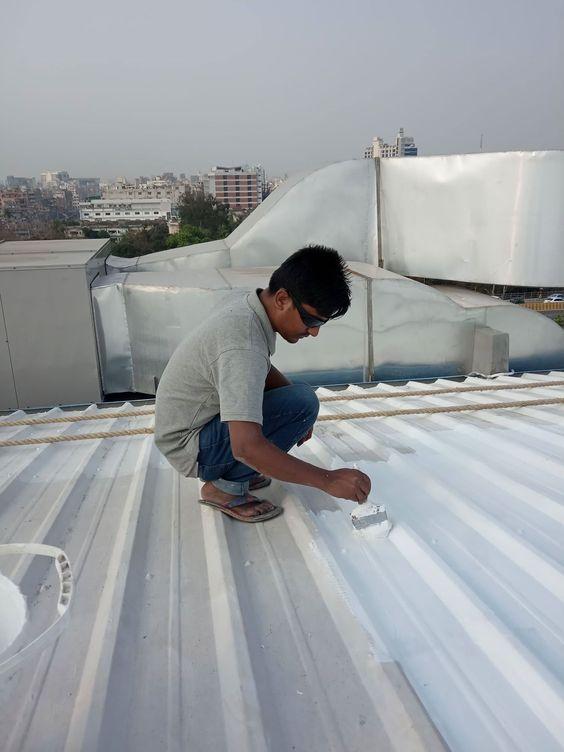 Waterproofing Solution Roof Coating Roofing Systems Roof Waterproofing