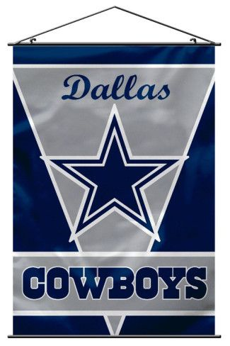 NFL Dallas Cowboys Wall Banner. Wall Scroll from AllPosters.com,