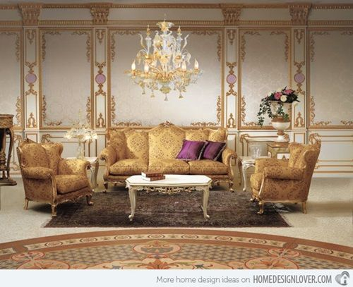 French Baroque Living Room Designs Formal Living Room Furniture