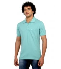 monte carlo sea green polo tshirt