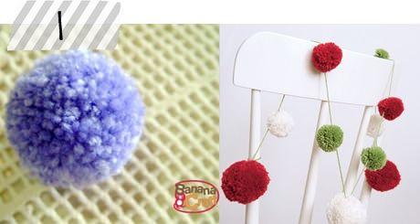 Aprenda a fazer pompons de lã! http://www.minhacasaminhacara.com.br/top-5-da-semana-3/