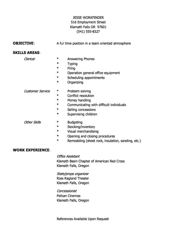 Concessionist Resume Sample - http\/\/resumesdesign - assistant visual merchandiser sample resume