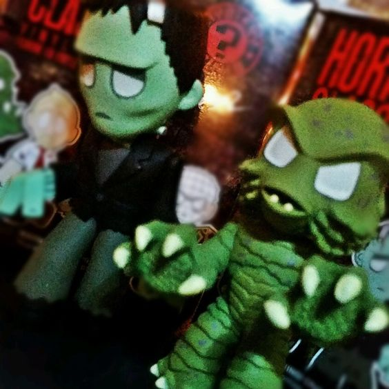 Funko Mystery Minis FRANKENSTEIN AND CREATURE Horror Classics UNIVERSAL MONSTERS in Toys & Hobbies, Action Figures, TV, Movie & Video Games | eBay