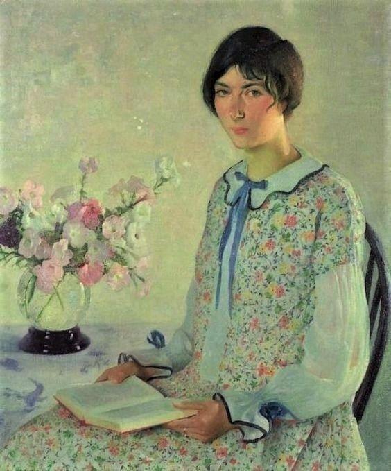 Gerrit Albertus Beneker ~ Katherine. 1926 ~ (American: 1882-1934)