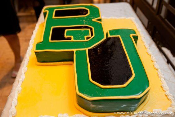 #Baylor groom's cake, birthday cake or tailgating dessert!