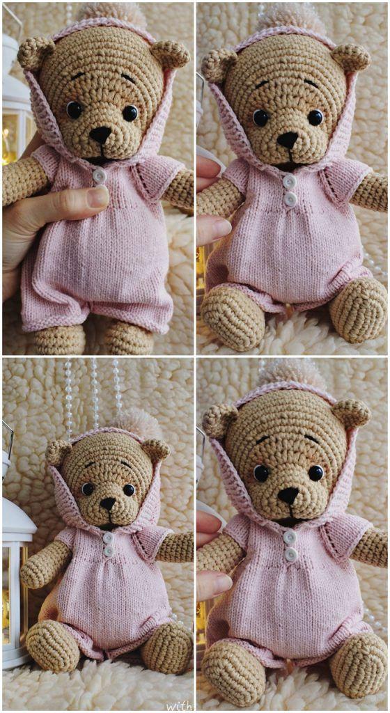 Free Amigurumi Teddy Bear Crochet Patterns – Amigurumi Crochet ... | 1024x560