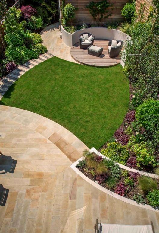 Large Front Garden Ideas Back Garden Design Garden Design Family Garden