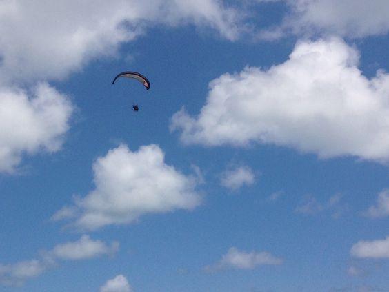 Voar o mais alto que puder!!!