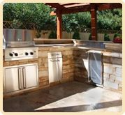 Shores Fireplace and BBQ - Outdoor Kitchens – Michigan's source for Custom Fireplaces, Barbecues, Fire Pits, Outdoor Grills
