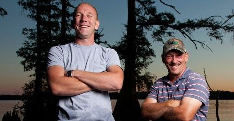 Jacob and Troy Landry from Swamp People.