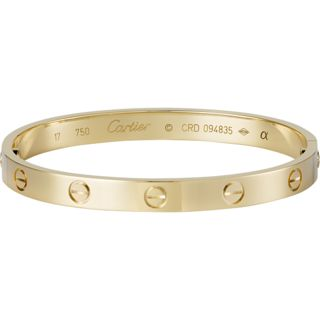 Cartier love bracelet. My next purchase. or gift. Hint Hint!