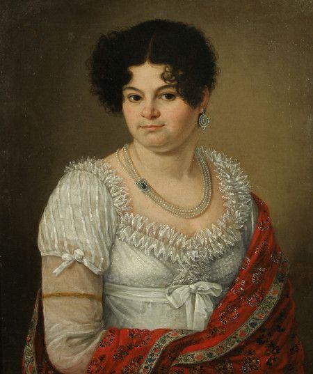 A RUSSIAN PORTRAIT OF PRINCESS KURAKINA, C. 1810-1820