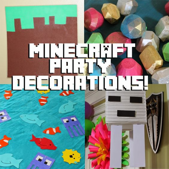 Doodle Craft...: Minecraft Crafts and Decorations!