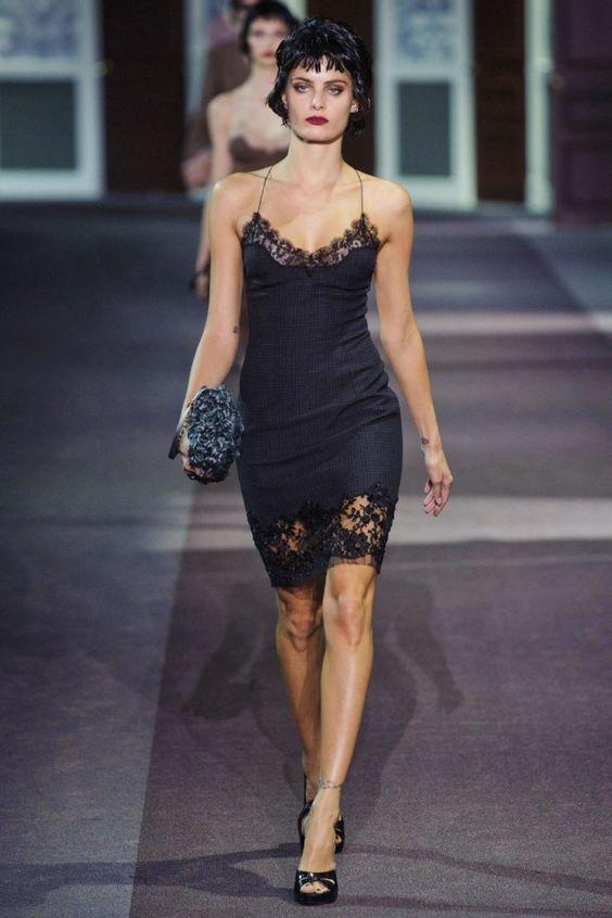 Slip Dress super na moda.: