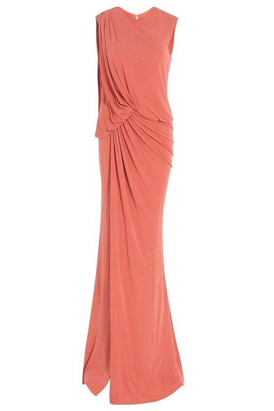 Sleeveless Long Jersey Gown By ELIE SAAB @ http://www.boutique1.com/