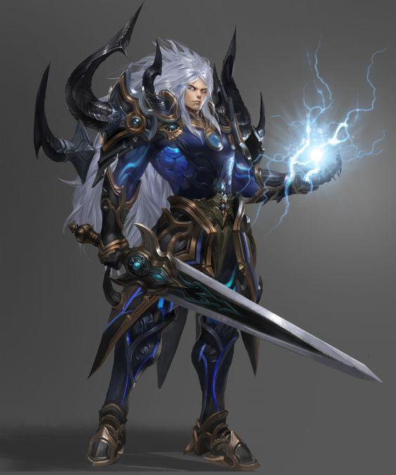 Warrior Character Design, Huge  Claw on ArtStation at https://www.artstation.com/artwork/1LelG